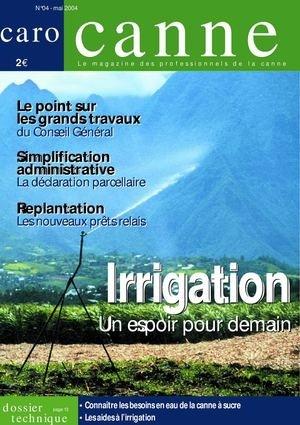 Irrigation : un espoir pour demain