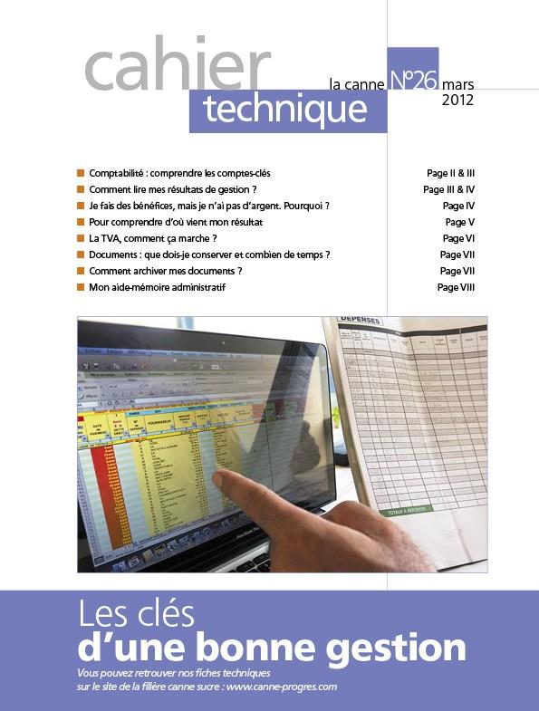 Cahier technique N°26 : Les clés d'une bonne gestion