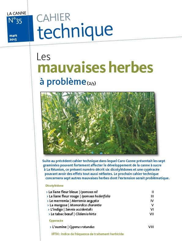 Cahier technique N°35 : les mauvaises herbes à problème (2/3)