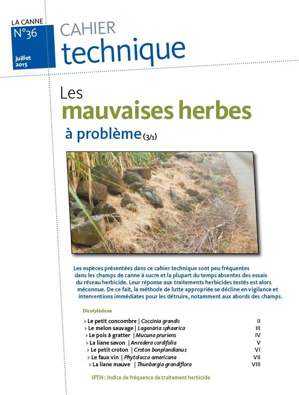Cahier technique N°36 : les mauvaises herbes à problème (3/3)