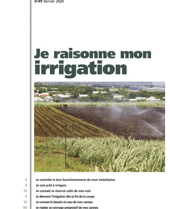 Cahier technique N°49 : je raisonne mon irrigation