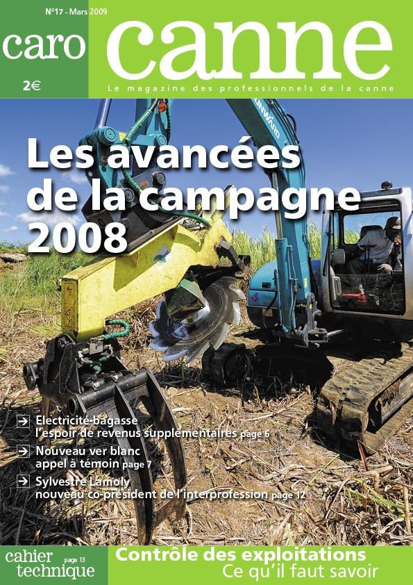 CaroCanne N°17 : Les avancées de la campagne 2008