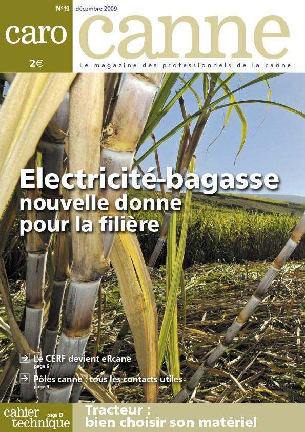 CaroCanne N°19 : Electricité-bagasse, nouvelle donne pour la filière