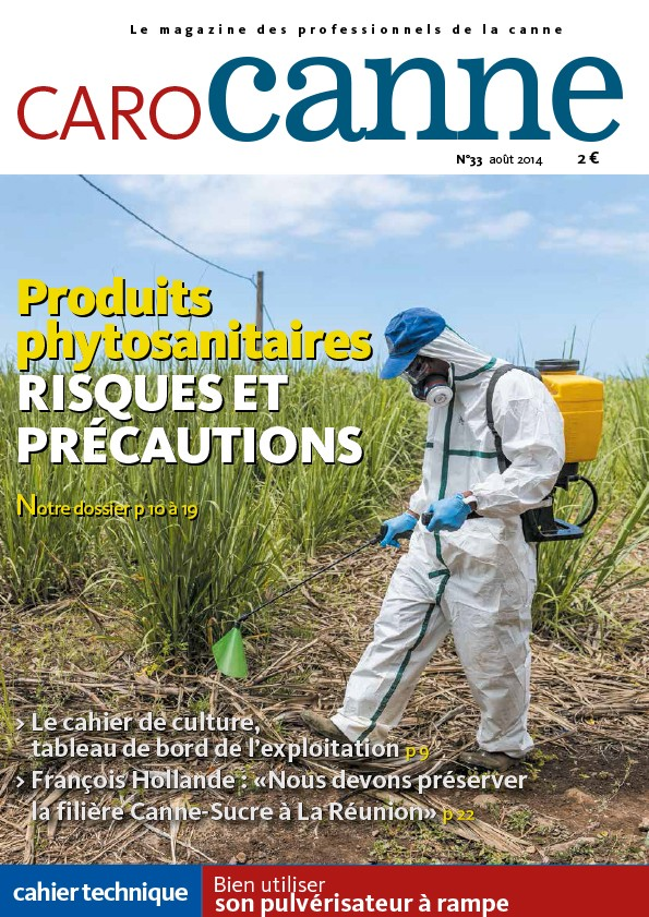 CaroCanne N°33 : produits phytosanitaires… risques et précautions