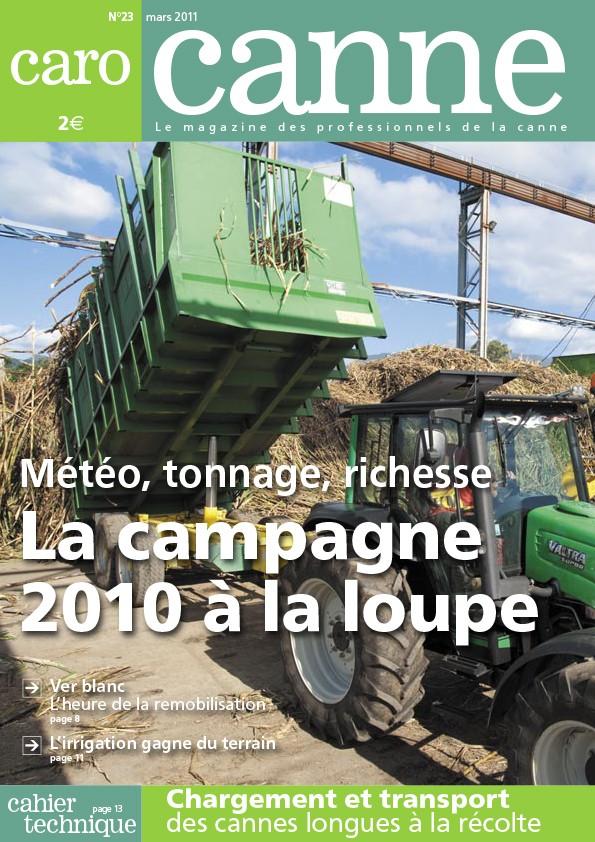 CaroCanne N°23 : Météo, tonnage, richesse – La campagne 2010 à la loupe