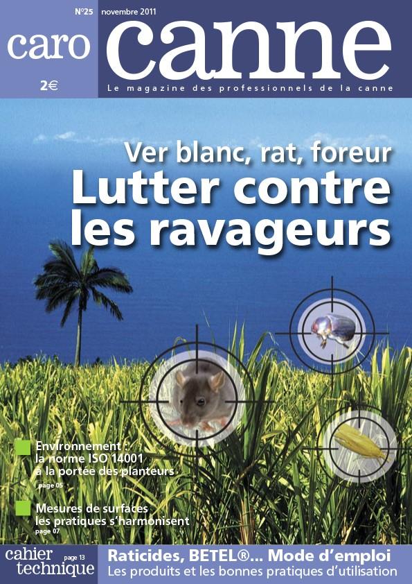 CaroCanne N°25 : Ver blanc, rat, foreur… Lutter contre les ravageurs