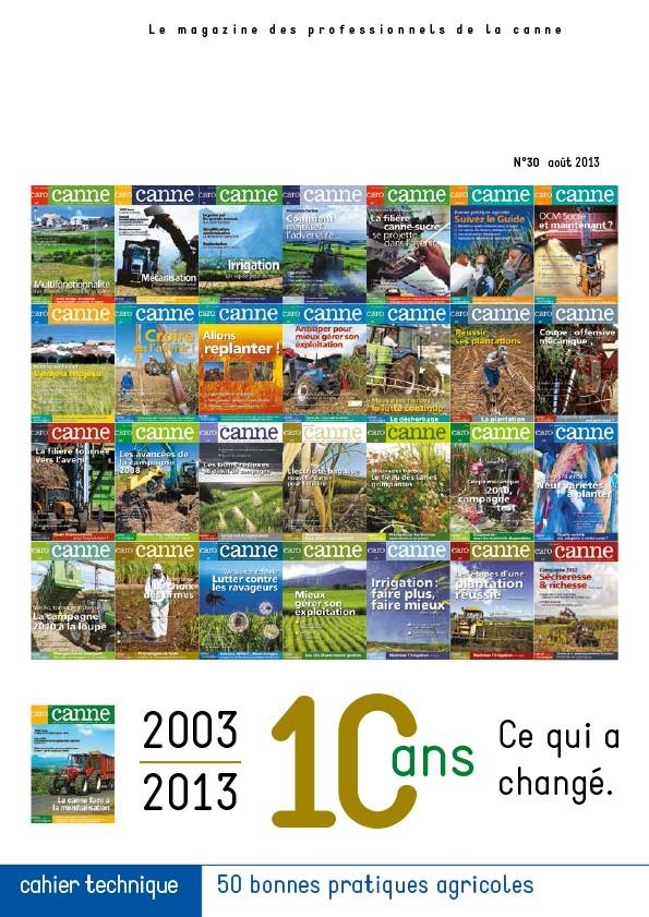 CaroCanne N°30 : 2003/2013…10 ans, ce qui a changé.