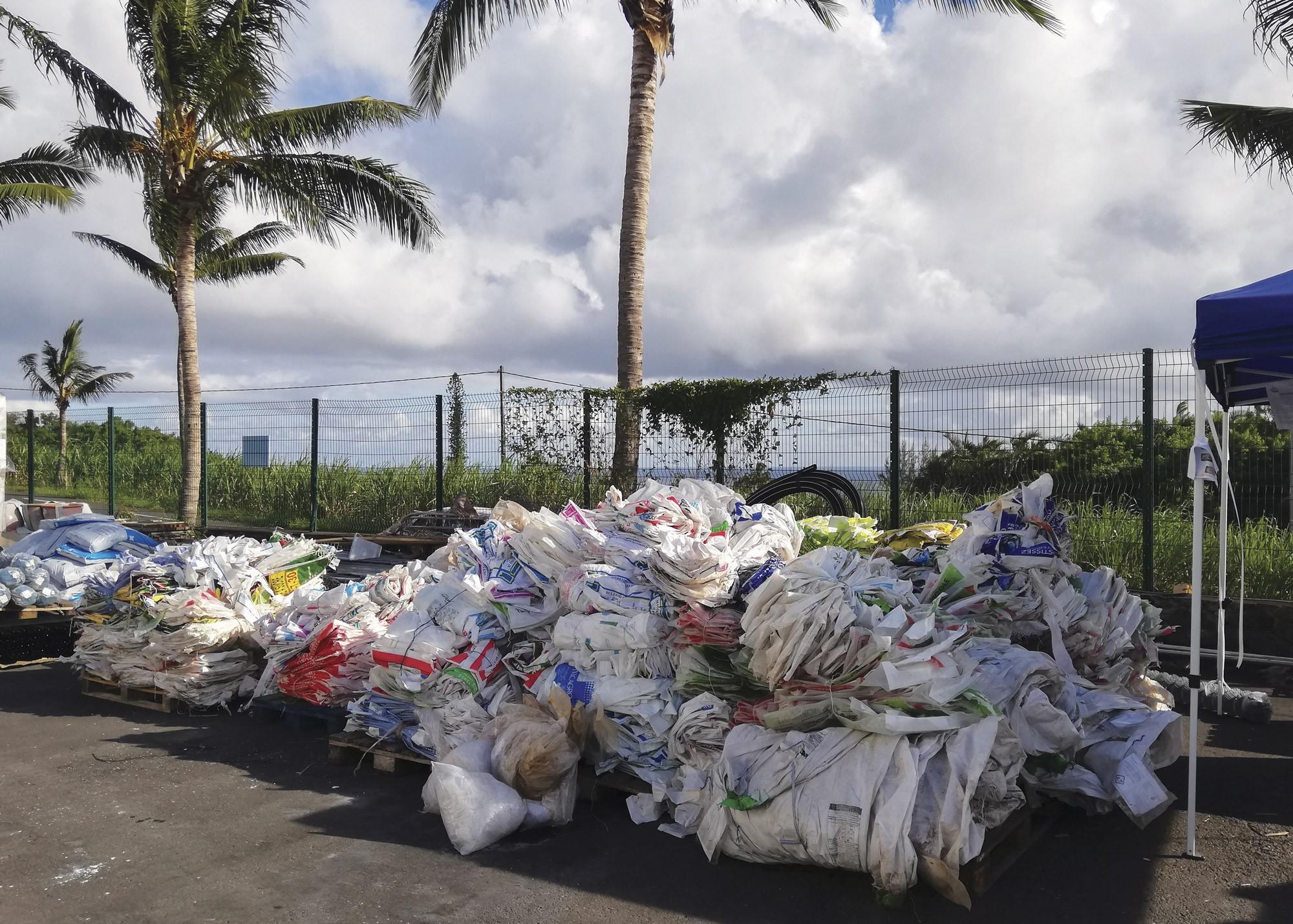 Déchets non organiques : la collecte des emballages vides s'anticipe