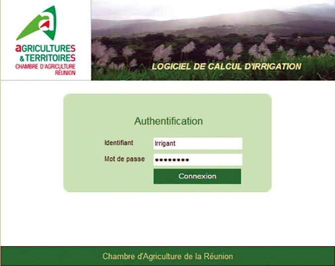 Le calcul d'irrigation en ligne
