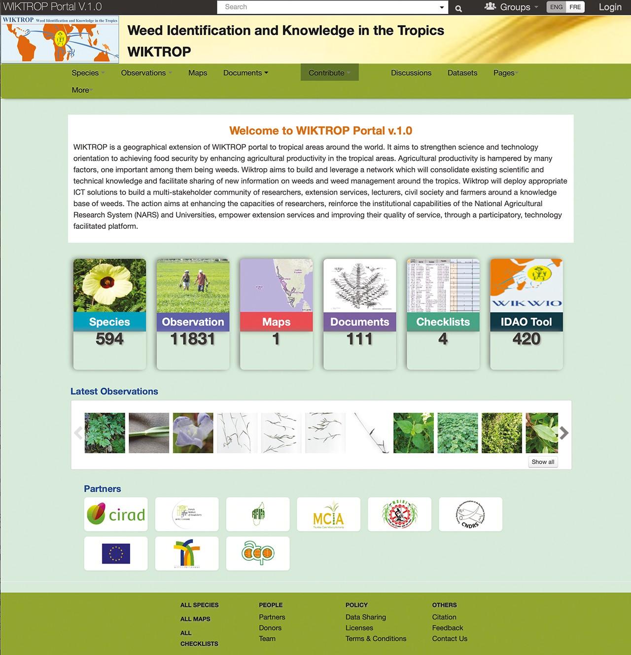 Les tropiques en réseau pour lutter contre les mauvaises herbes