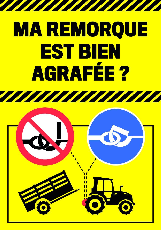 L'attelage tracteur-remorque, point faible de sécurité