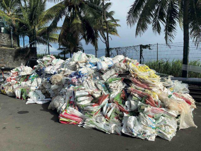 Forte augmentation des tonnages collectés
